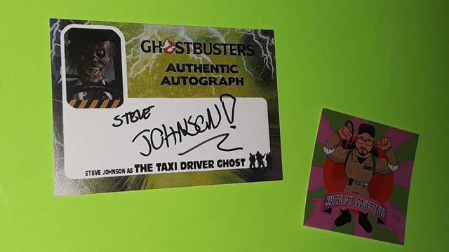 Two new Ghostbusters autograph cards now available!