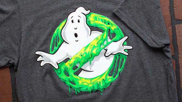 Two new Ghostbusters glow-in-the-dark t-shirts now available