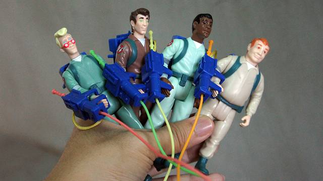 Unboxing Hasbro's Classic Kenner 'The Real Ghostbusters' Action Figures