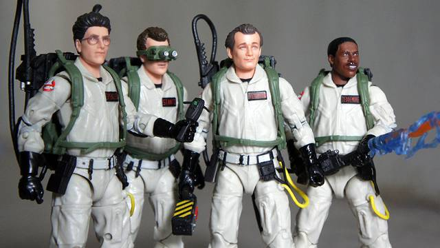 Unboxing Hasbro's Ghostbusters Plasma Series Figures