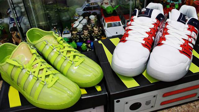 UNBOXING: New Ghostbusters themed shoes from K-Swiss
