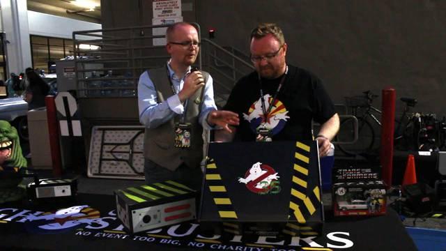 Unboxing RARE K-Swiss giveaway box from Ghostbusters Fan Fest