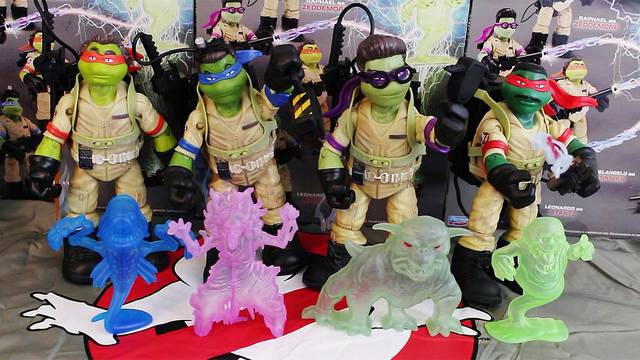 Unboxing + Review: Ninja Ghostbusters action figures