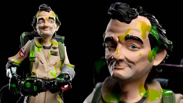 Upcoming Ghostbusters Slimed Peter Venkman Mini Epics figure now up for pre-order
