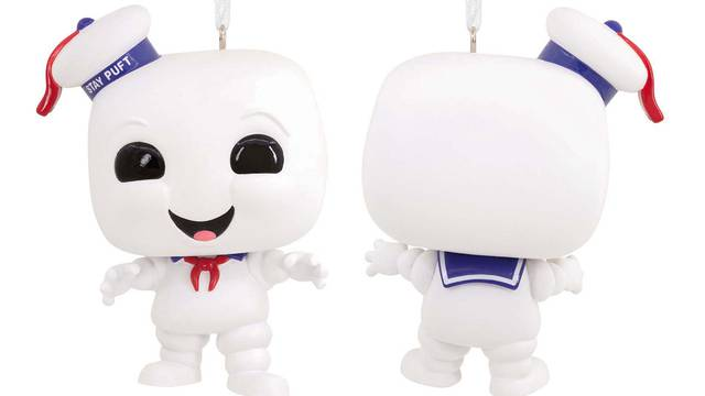 Upcoming Ghostbusters Stay Puft Marshmallow Man Funko POP! ornament up for pre-order