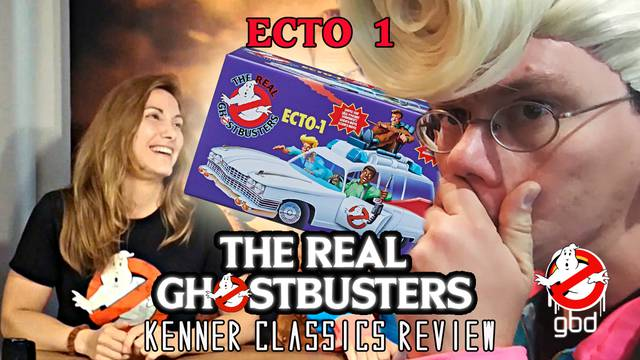 VIDEO // Toy-Review: Kenner Classics Ecto-1