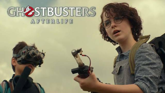 Watch a new Ghostbusters: Afterlife clip showcasing the Proton Pack in action!