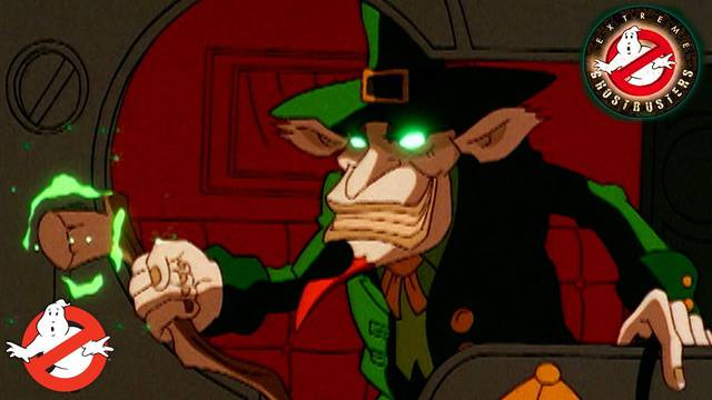 """Watch the classic Extreme Ghostbusters episode """"The Luck of the Irish"""""""