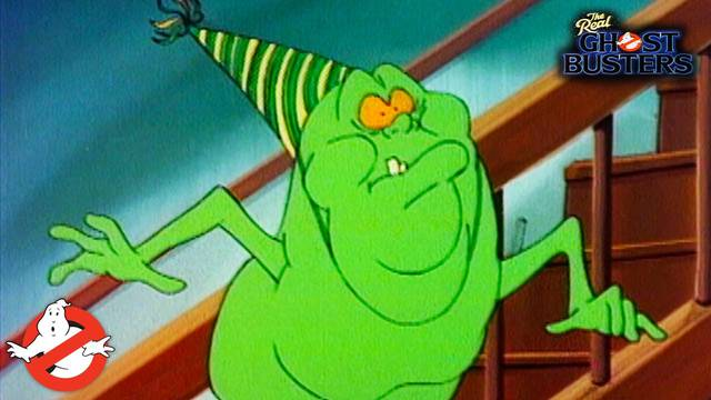 """Watch the classic Real Ghostbusters episode """"Slimer, Come Home!"""""""