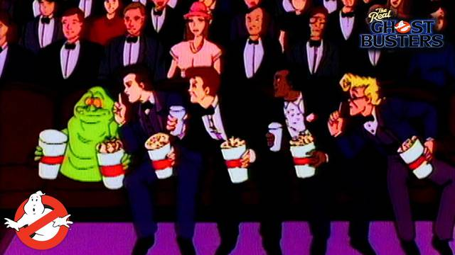 "Watch the classic Real Ghostbusters episode ""Take Two"""