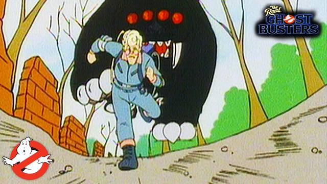 """Watch the classic Real Ghostbusters episode """"The Scaring of the Green"""""""