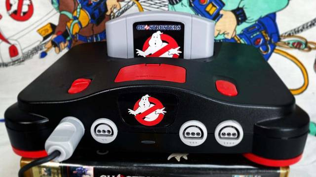 WE NEED THIS: Ghostbusters themed Nintendo 64