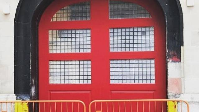 We're totally geeking out over the renovation to the Ghostbusters firehouse