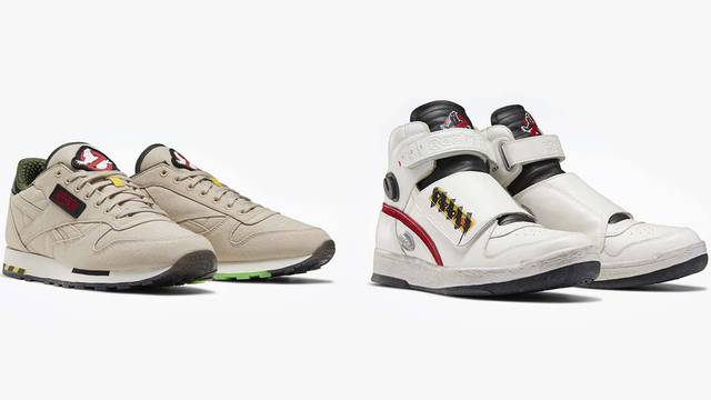 Who you gonna call? Reebok just revealed a line of Ghostbusters themed shoes!