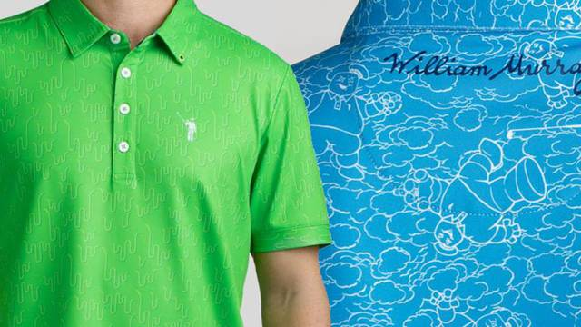 William Murray Golf offering up Ghostbusters inspired polo shirts