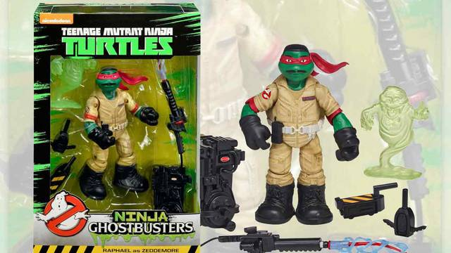 Win a Ninja Ghostbusters action figure from Ghost Corps!