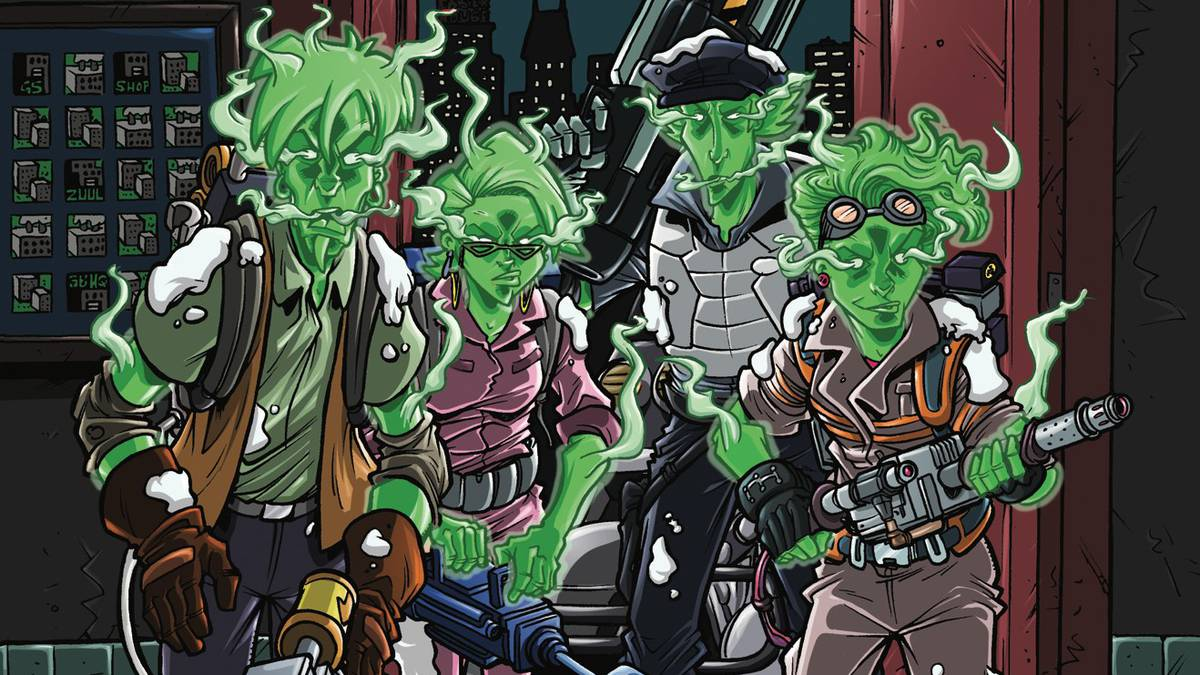 Ghostbusters: Crossing Over Issue #3