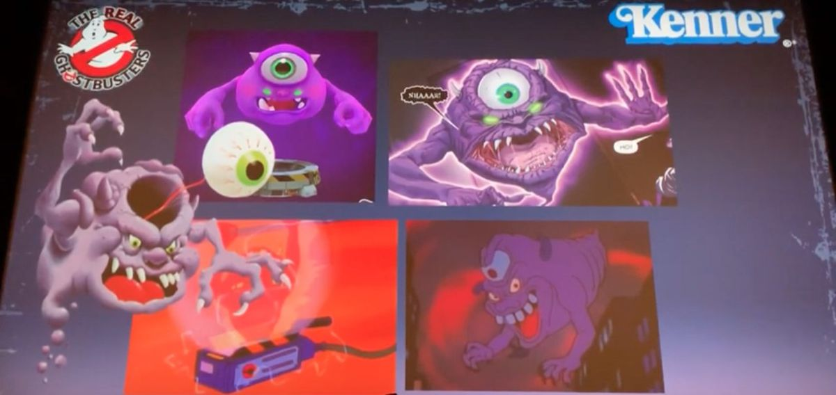 Real Ghostbusters Bug Eye Ghost Illustrations Ghostbusters World
