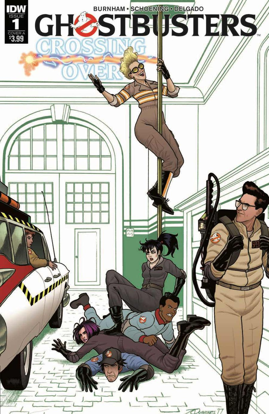 Ghostbusters: Crossing Over Issue 1 Cover