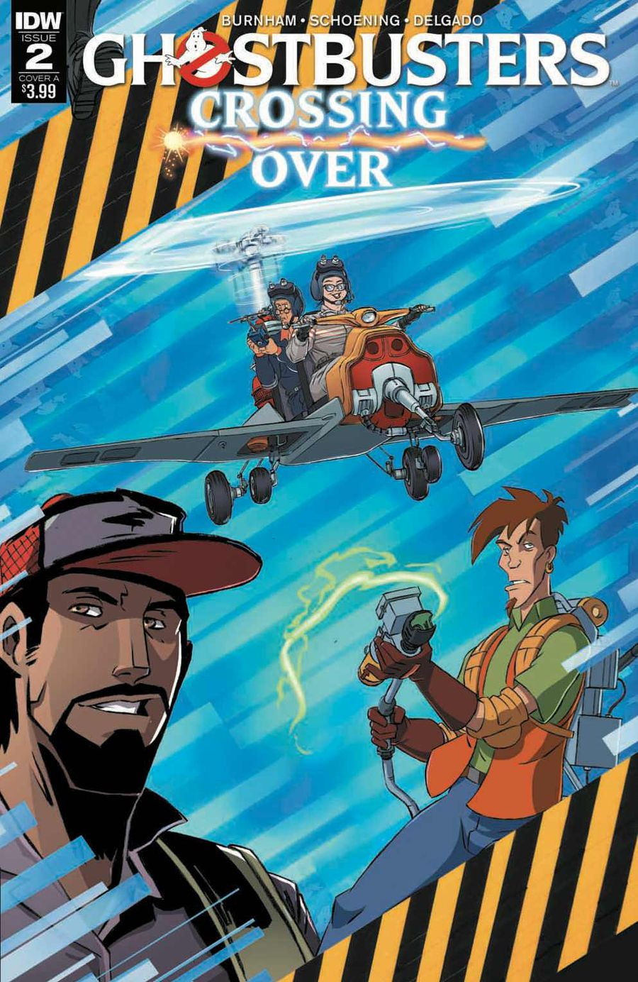 Ghostbusters: Crossing Over Issue 2 Cover