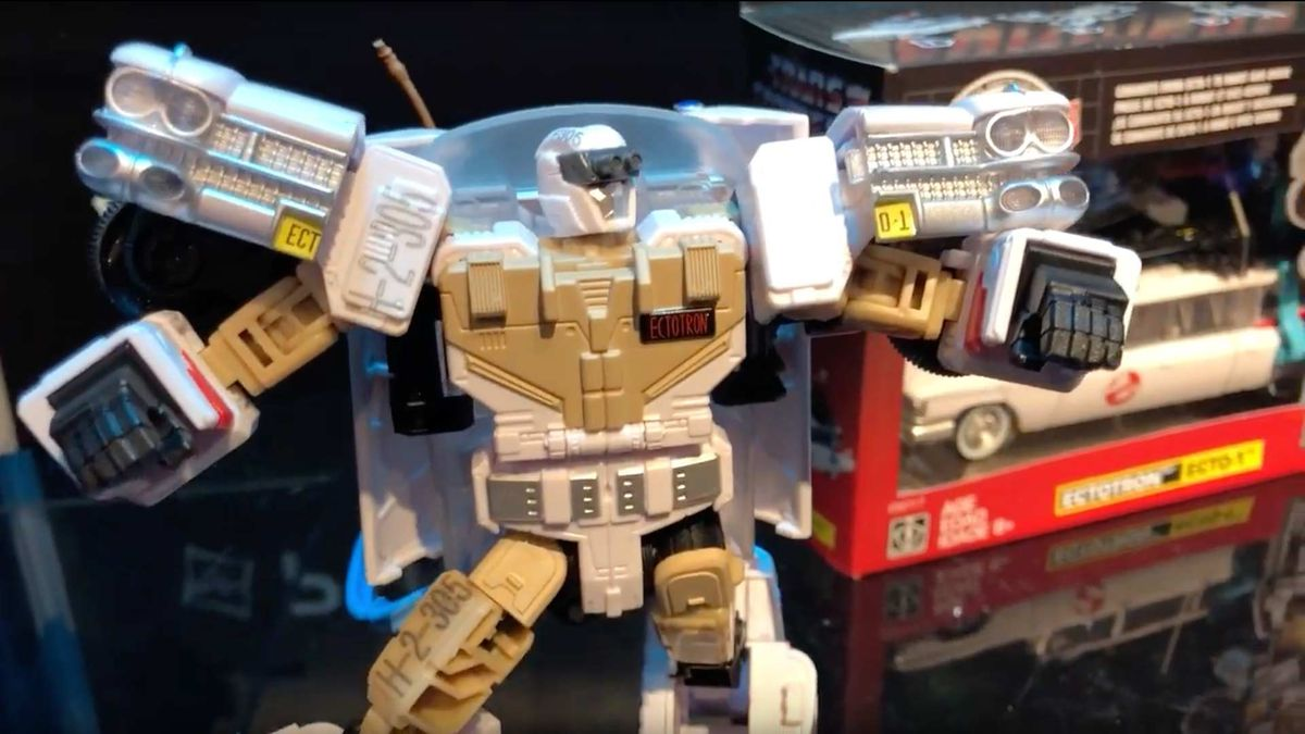 Ectotron: Transformers / Ghostbusters Crossover Figure Available For Pre-Order