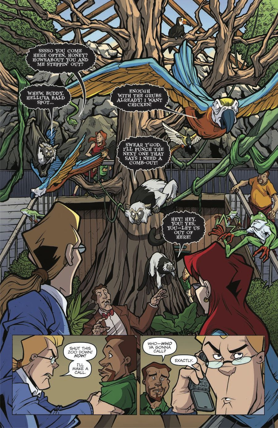 Extreme Ghostbusters: Talk to the Animals Preview Page 5