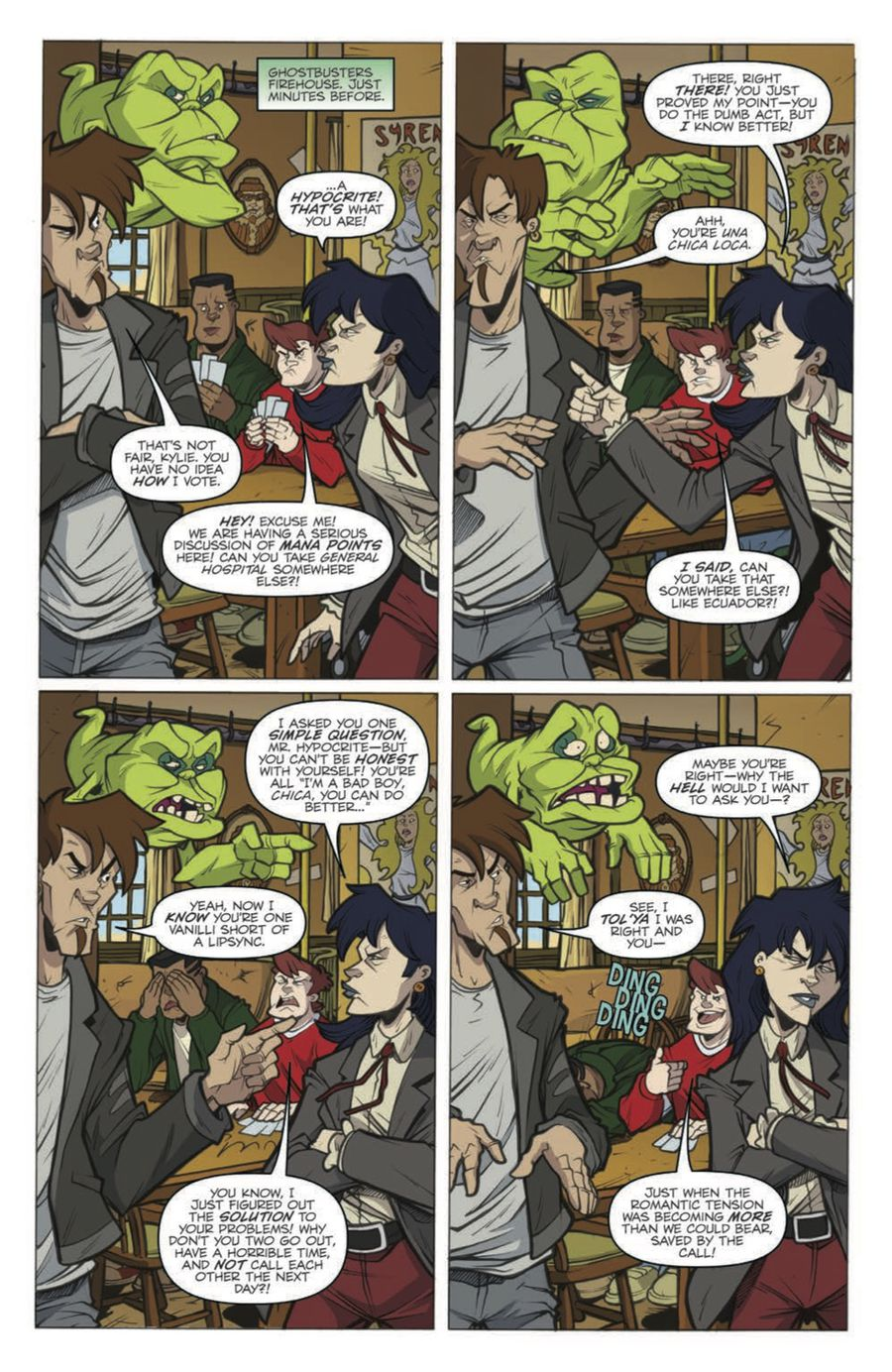 Extreme Ghostbusters: Talk to the Animals Preview Page 6