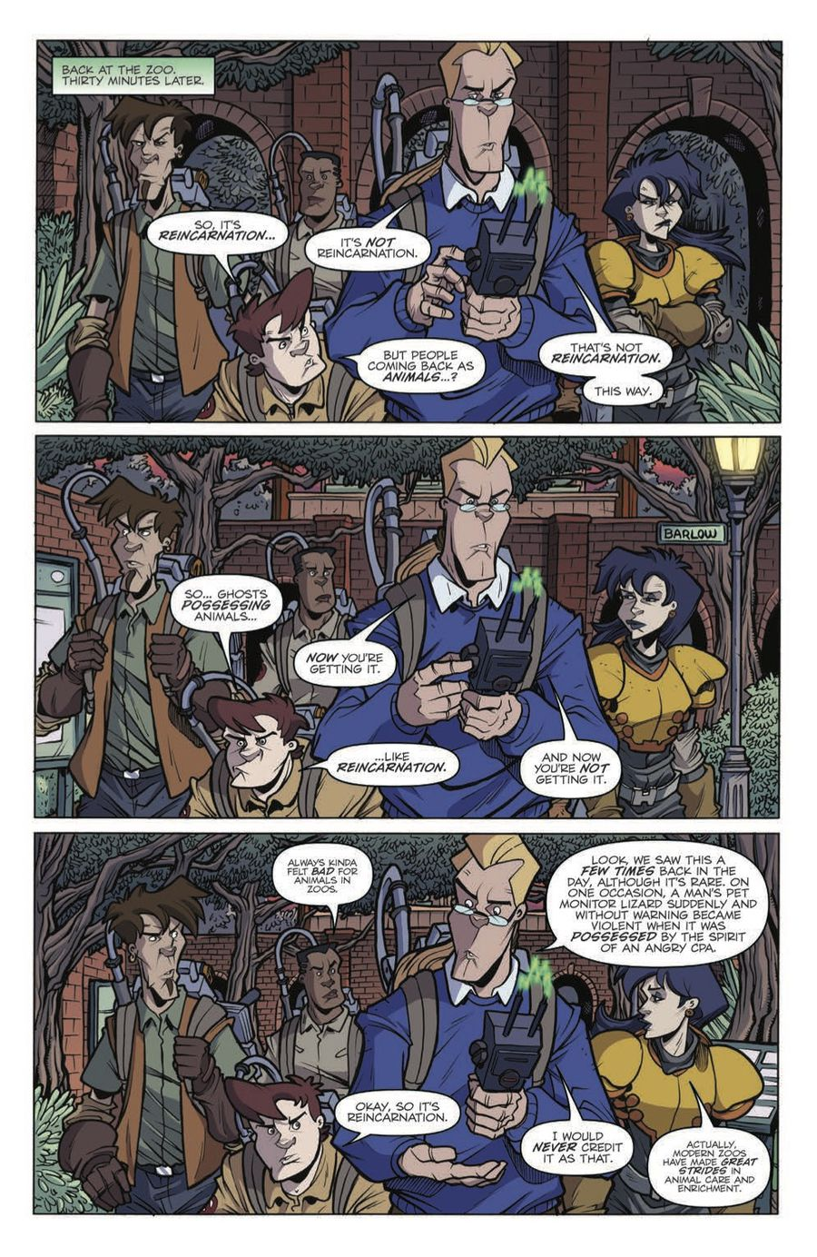 Extreme Ghostbusters: Talk to the Animals Preview Page 7