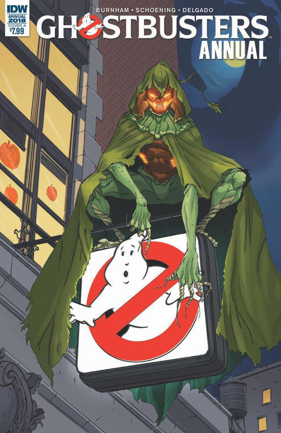 Ghostbusters Annual 2018 Cover