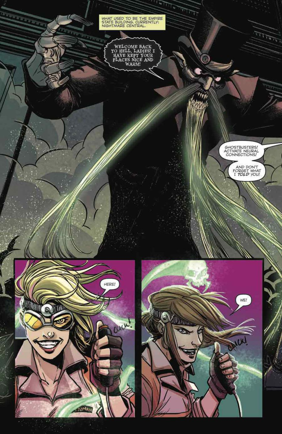 Ghostbusters: Answer the Call Issue 5 Page 3
