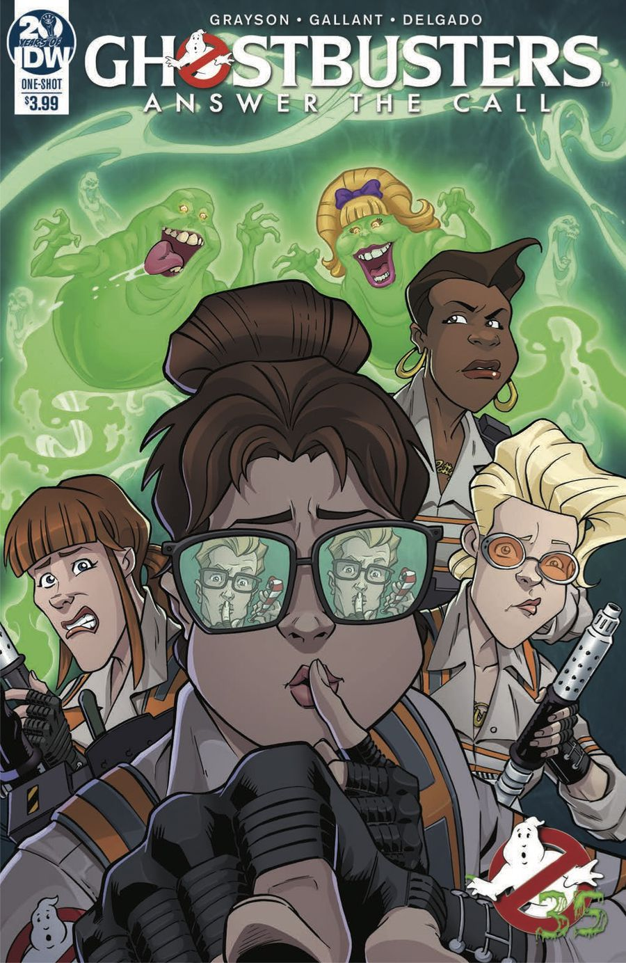 Ghostbusters: Answer the Call Page 1