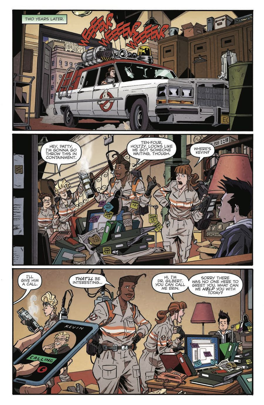 Ghostbusters: Answer the Call Page 5