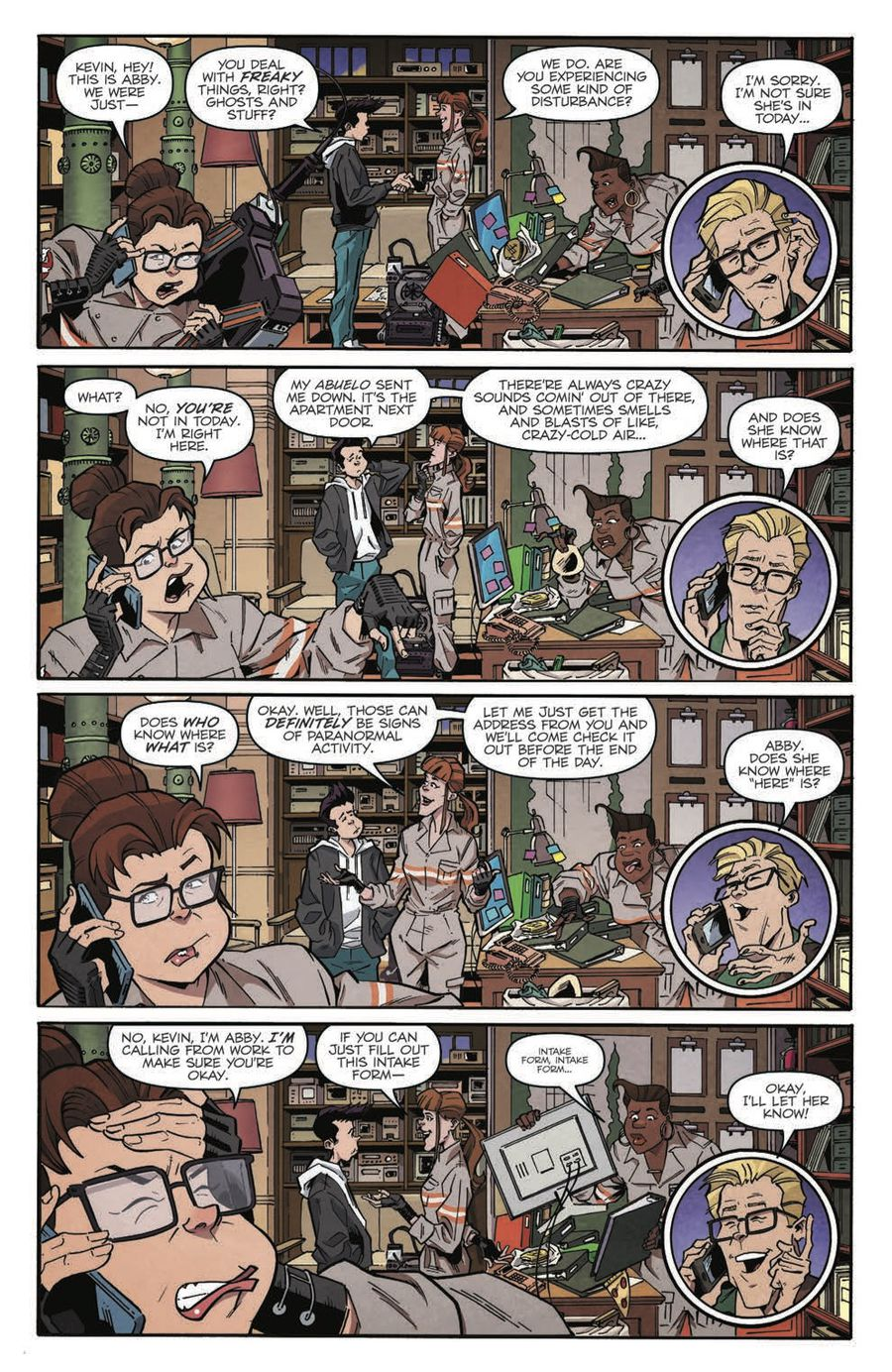 Ghostbusters: Answer the Call Page 6