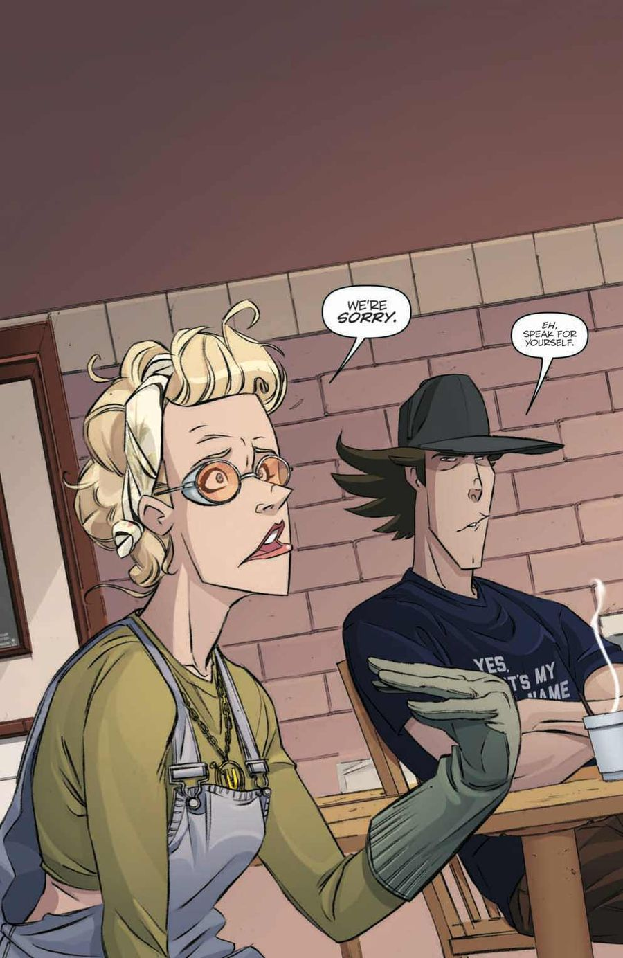 Ghostbusters: Crossing Over Issue 2 Page 2