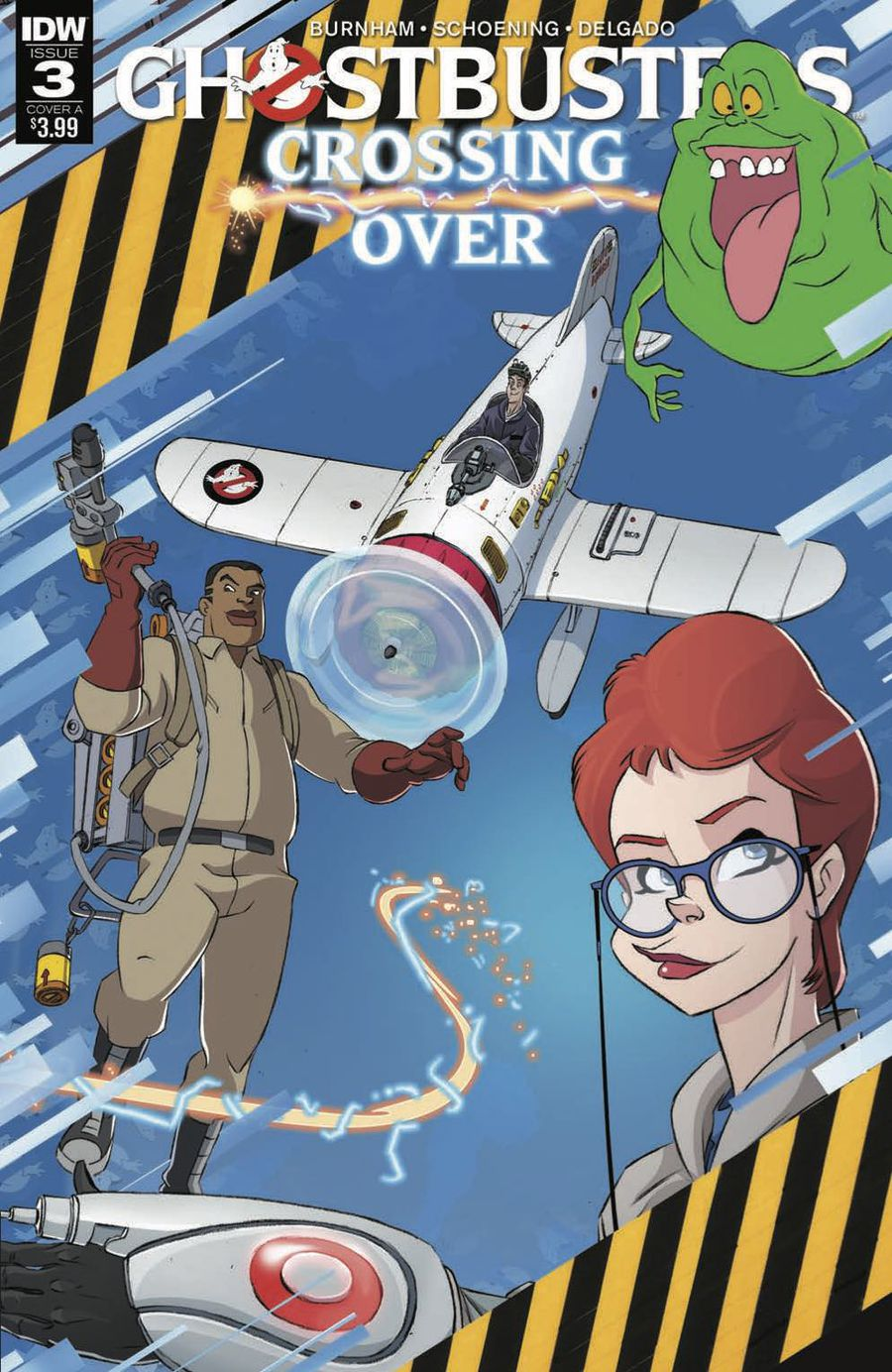 Ghostbusters: Crossing Over Issue 3 Cover A