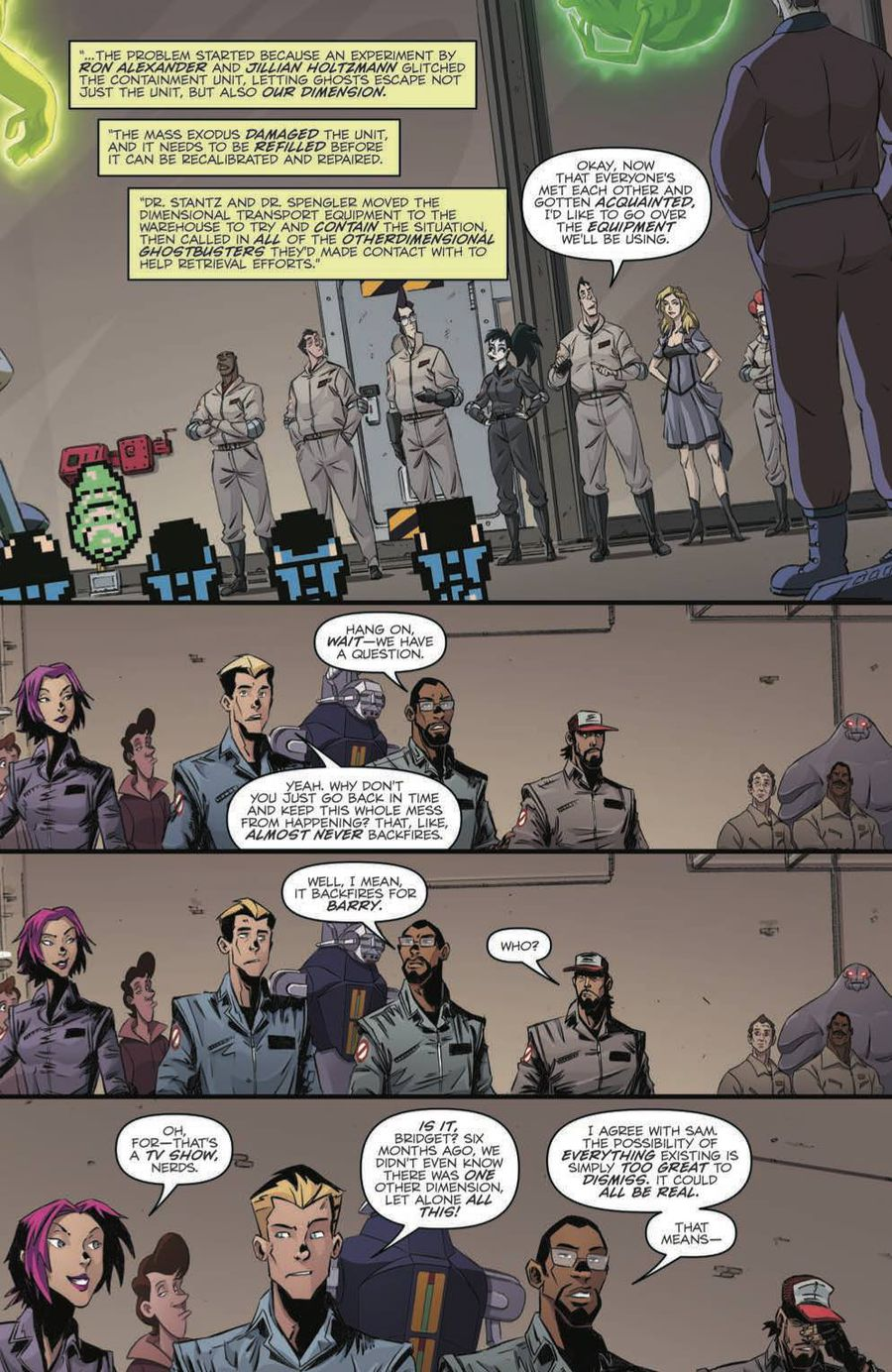 Ghostbusters: Crossing Over Issue 3 Page 4