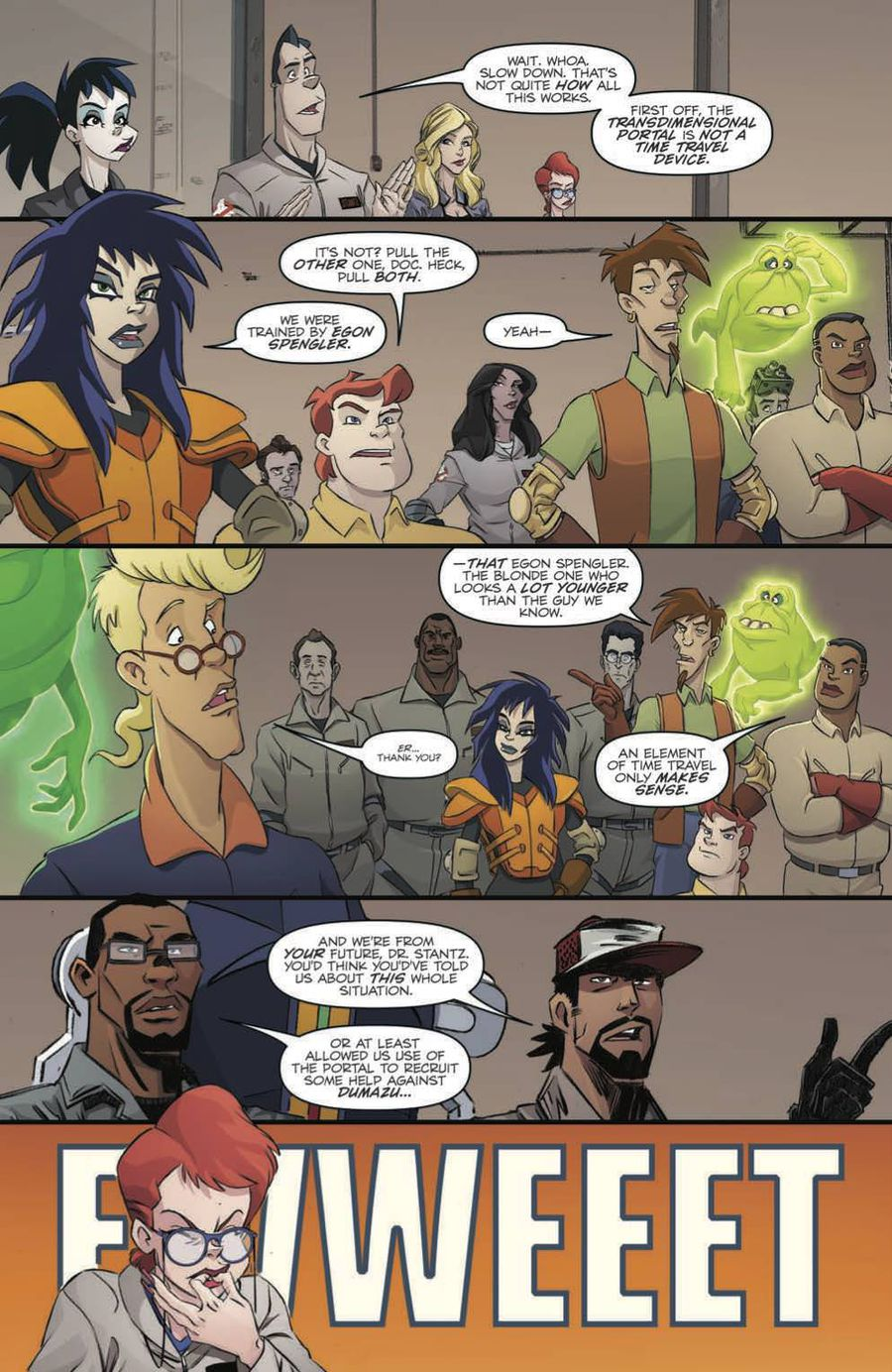 Ghostbusters: Crossing Over Issue 3 Page 5