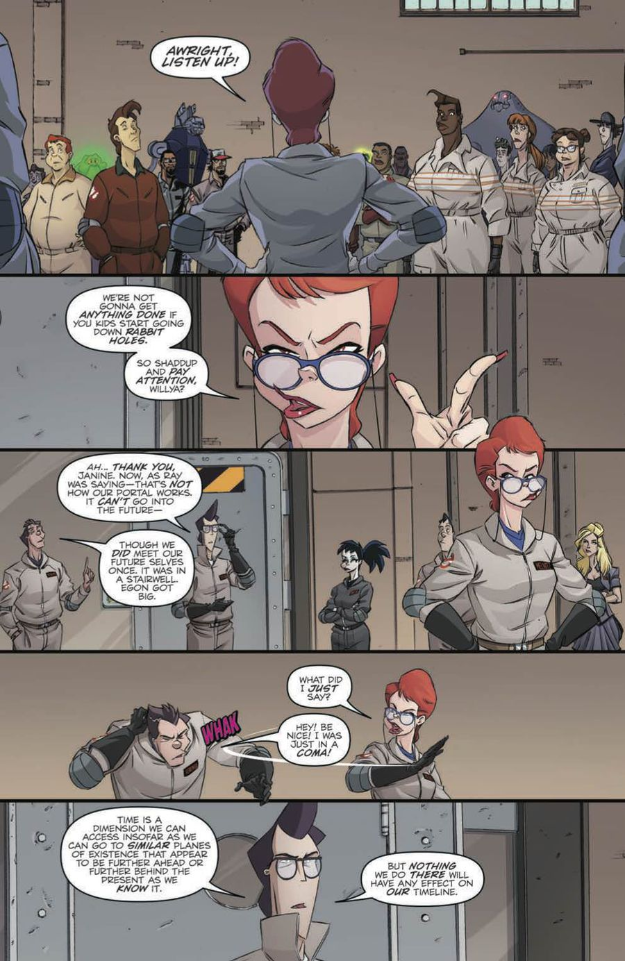 Ghostbusters: Crossing Over Issue 3 Page 6