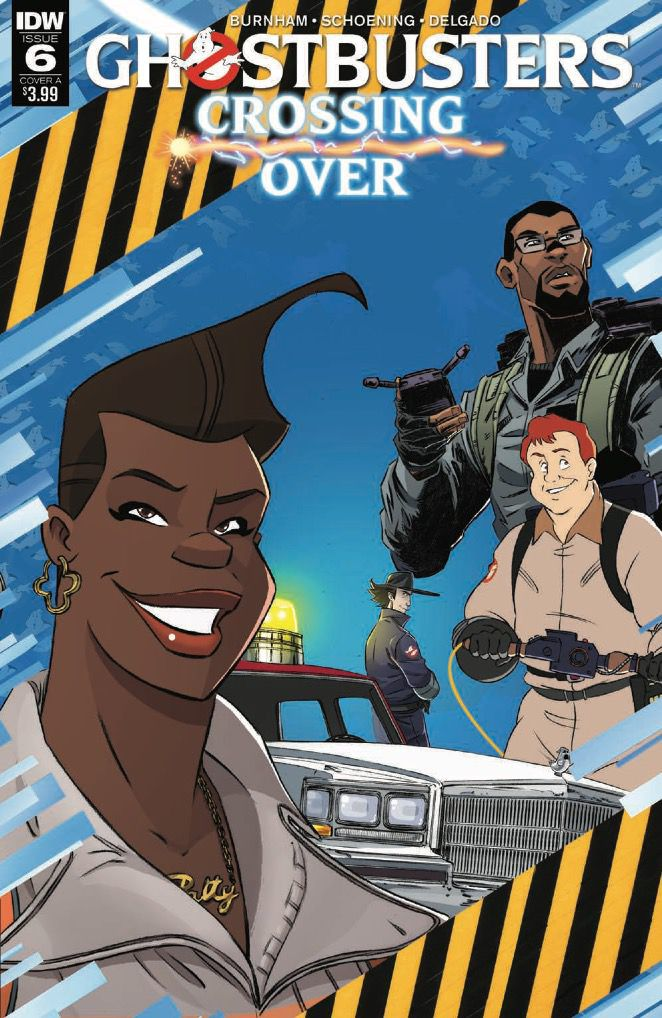 Ghostbusters: Crossing Over Issue 6 Cover A