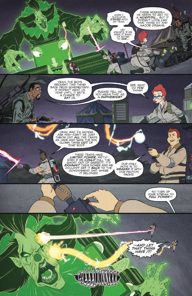 Ghostbusters: Crossing Over Issue 6 Page 2