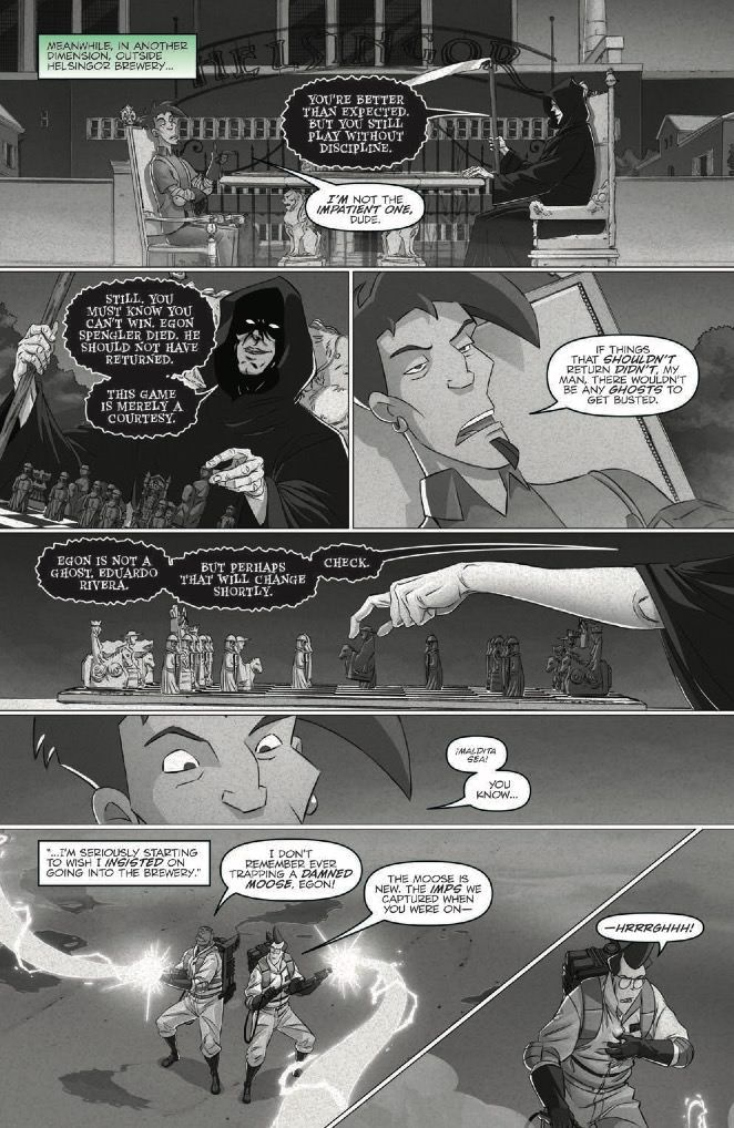 Ghostbusters: Crossing Over Issue 6 Page 5