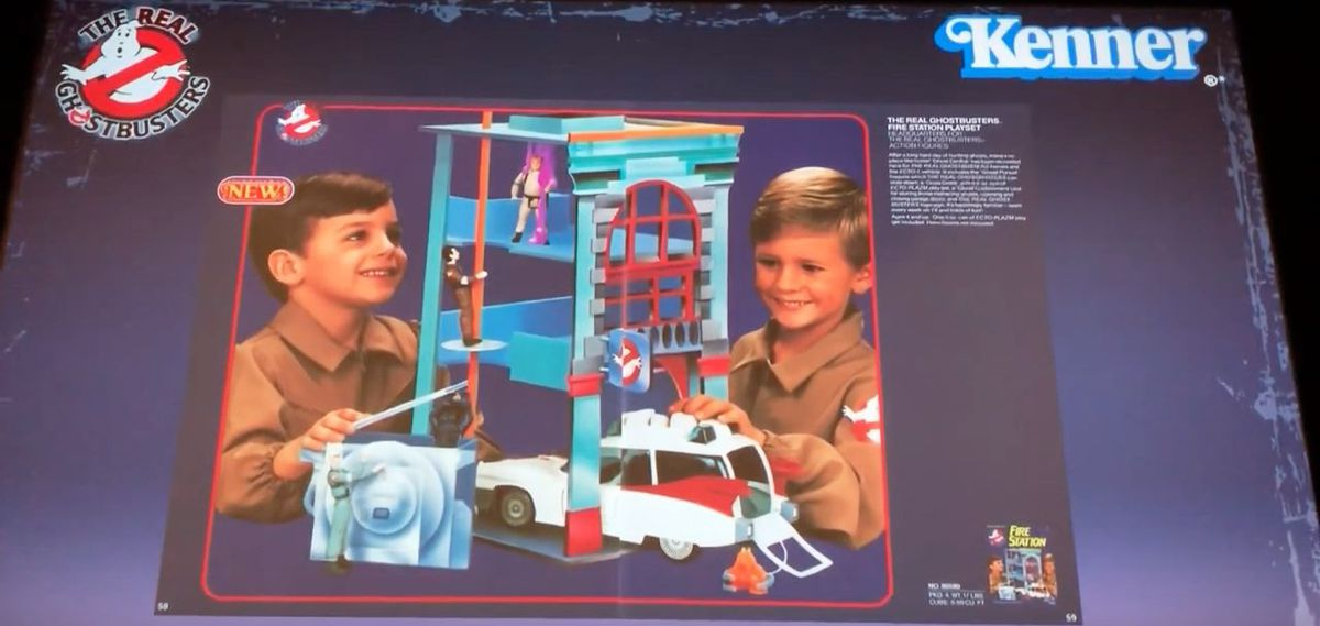 Kenner Ghostbusters Firehouse HQ Headquarters Foamcore Prototype