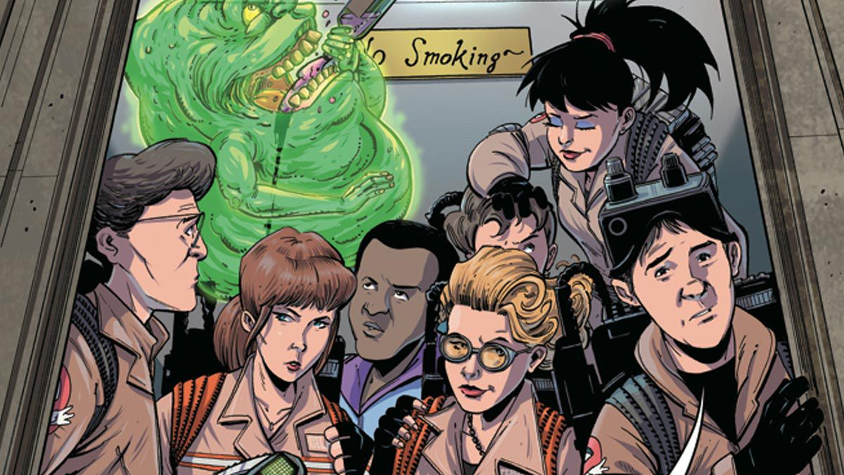 Ghostbusters: Crossing Over Issue #6