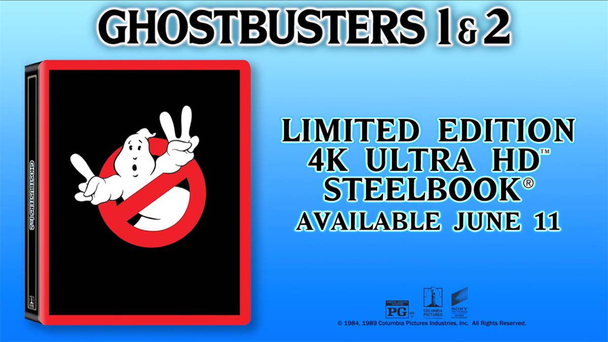 35th Anniversary Ghostbusters Steelbook Offers Content Collection of Biblical Proportions