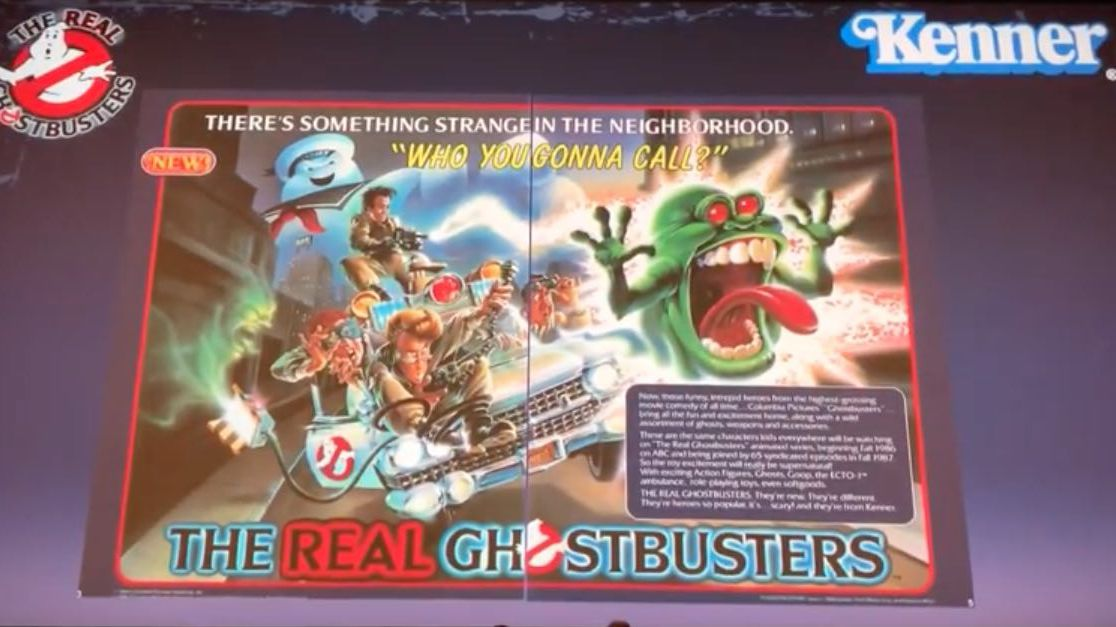 I Ain't Afraid of No Toys Ghostbusters Fan Fest Panel