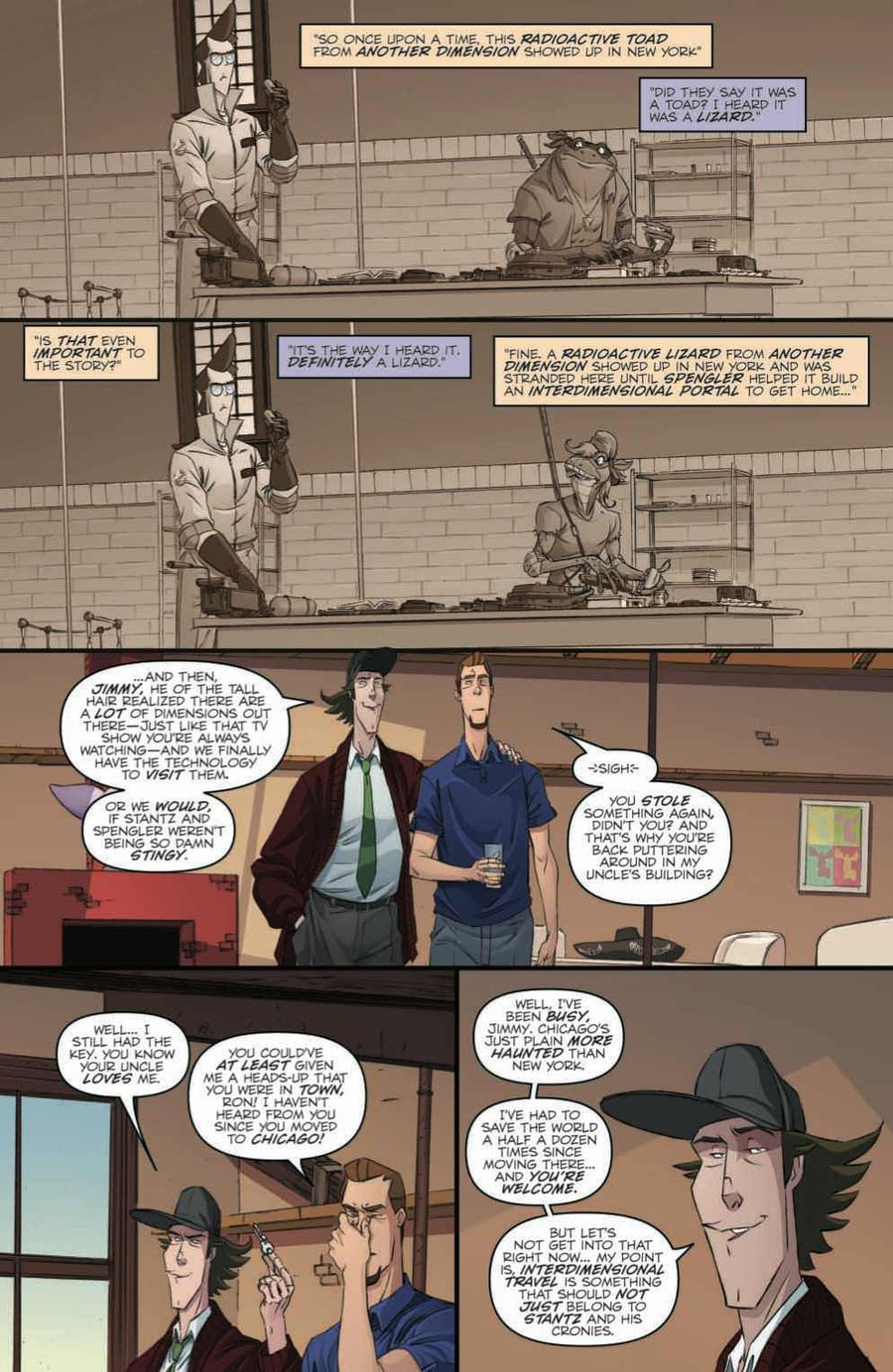 Ghostbusters: Crossing Over Issue 1 Page 2
