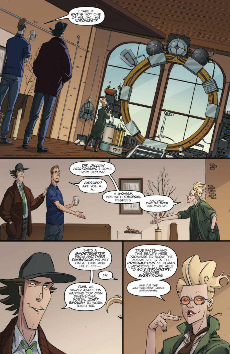 Ghostbusters: Crossing Over Issue 1 Page 3