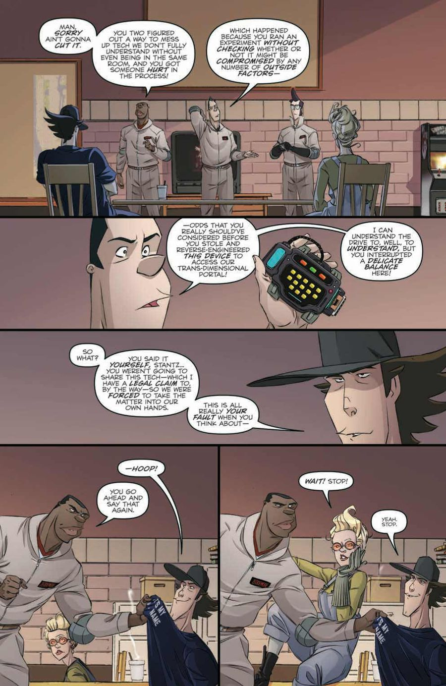 Ghostbusters: Crossing Over Issue 2 Page 3