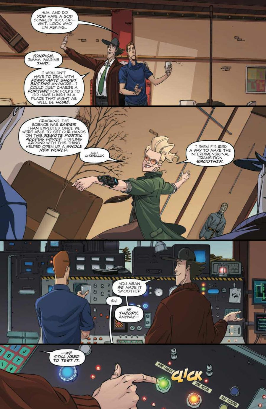Ghostbusters: Crossing Over Issue 1 Page 4