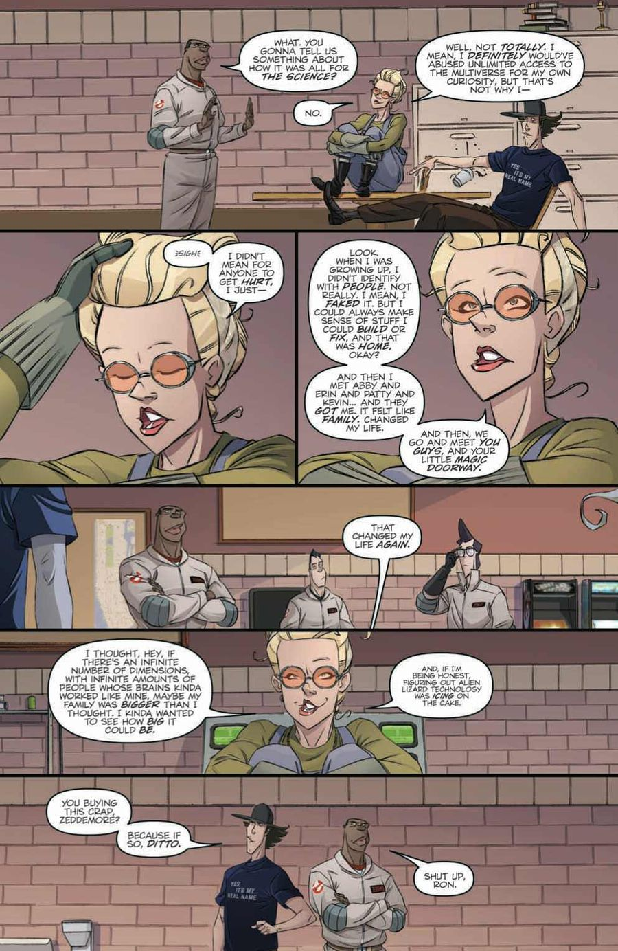 Ghostbusters: Crossing Over Issue 2 Page 4